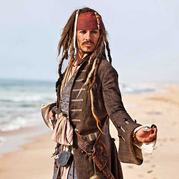 Captain Jack Sparrow Lookalike Lookalike West Sussex