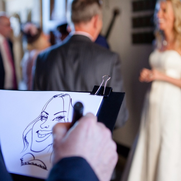 Ivo the Caricaturist Caricaturist London