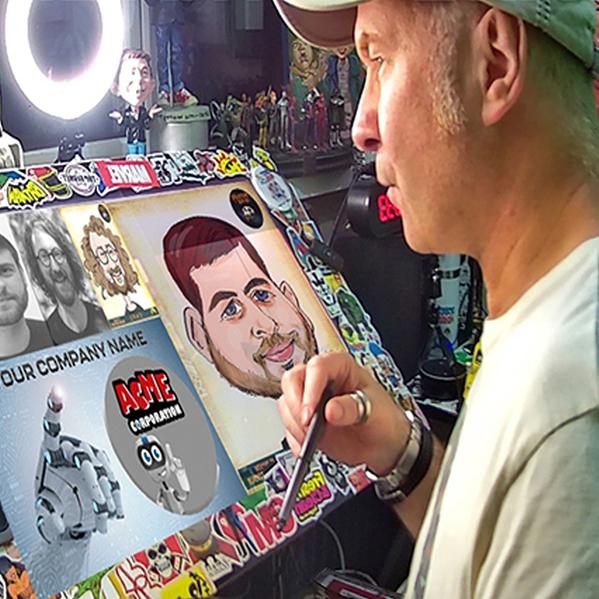 Virtual Caricature Party Virtual Caricature Party Berkshire