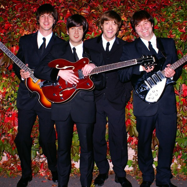 With The Beatles Beatles Tribute Band East Sussex