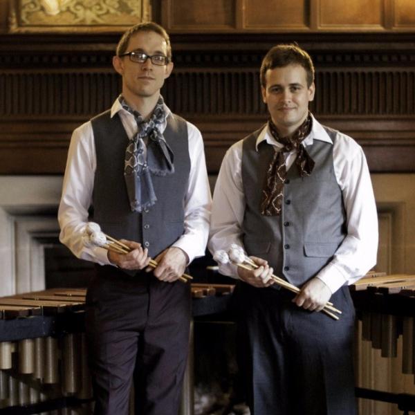 The Mazzuoli Marimba Duo Unusual Musician Glamorgan