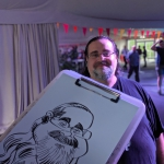Event Draw A Crowd Caricatures  Bedfordshire