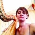 Event Catalana Harpist London
