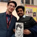 Event Francesco Caricatures Caricaturist London