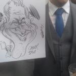 Event Tims Cracking Caricatures Caricaturist Warrington, Cheshire
