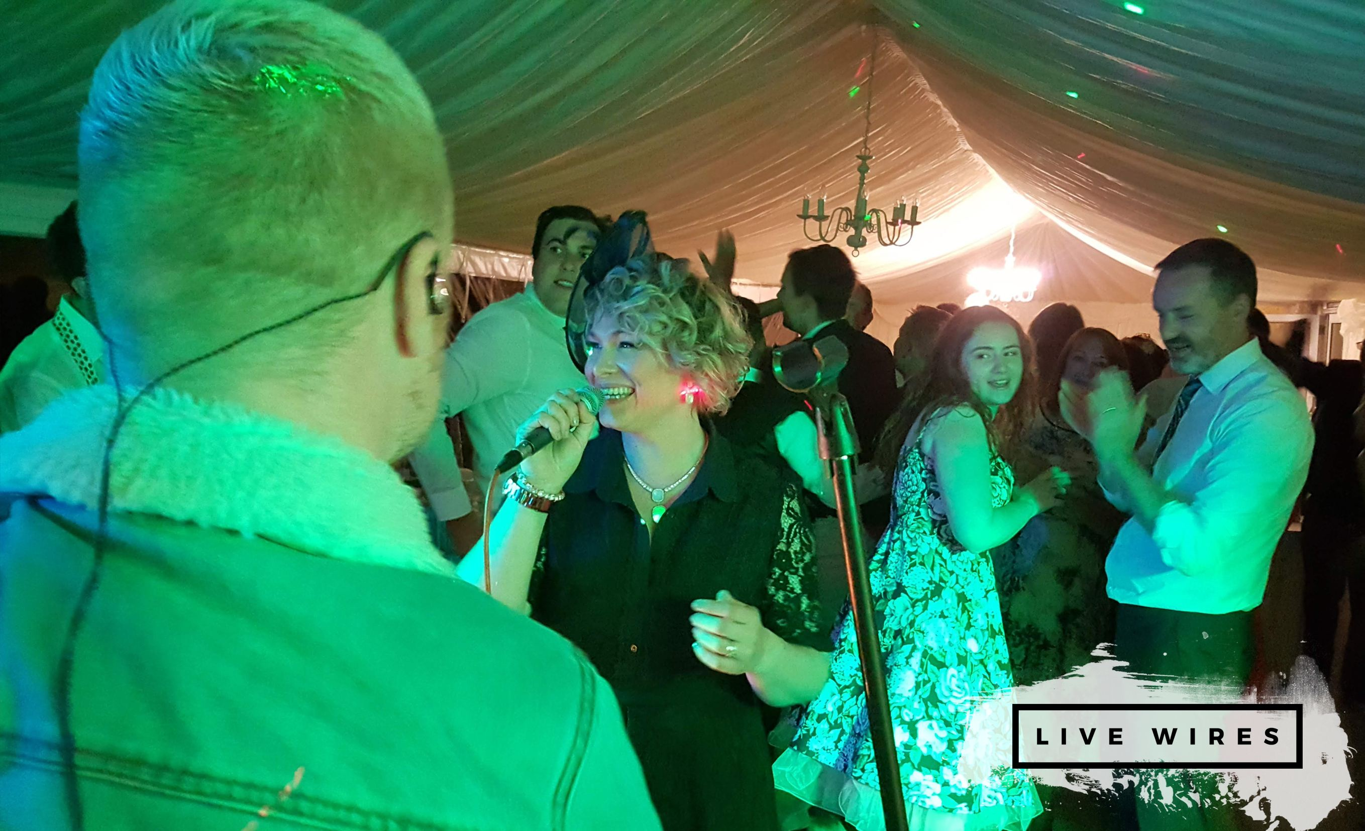 Live Wires Rock and Pop Function Band Staffordshire