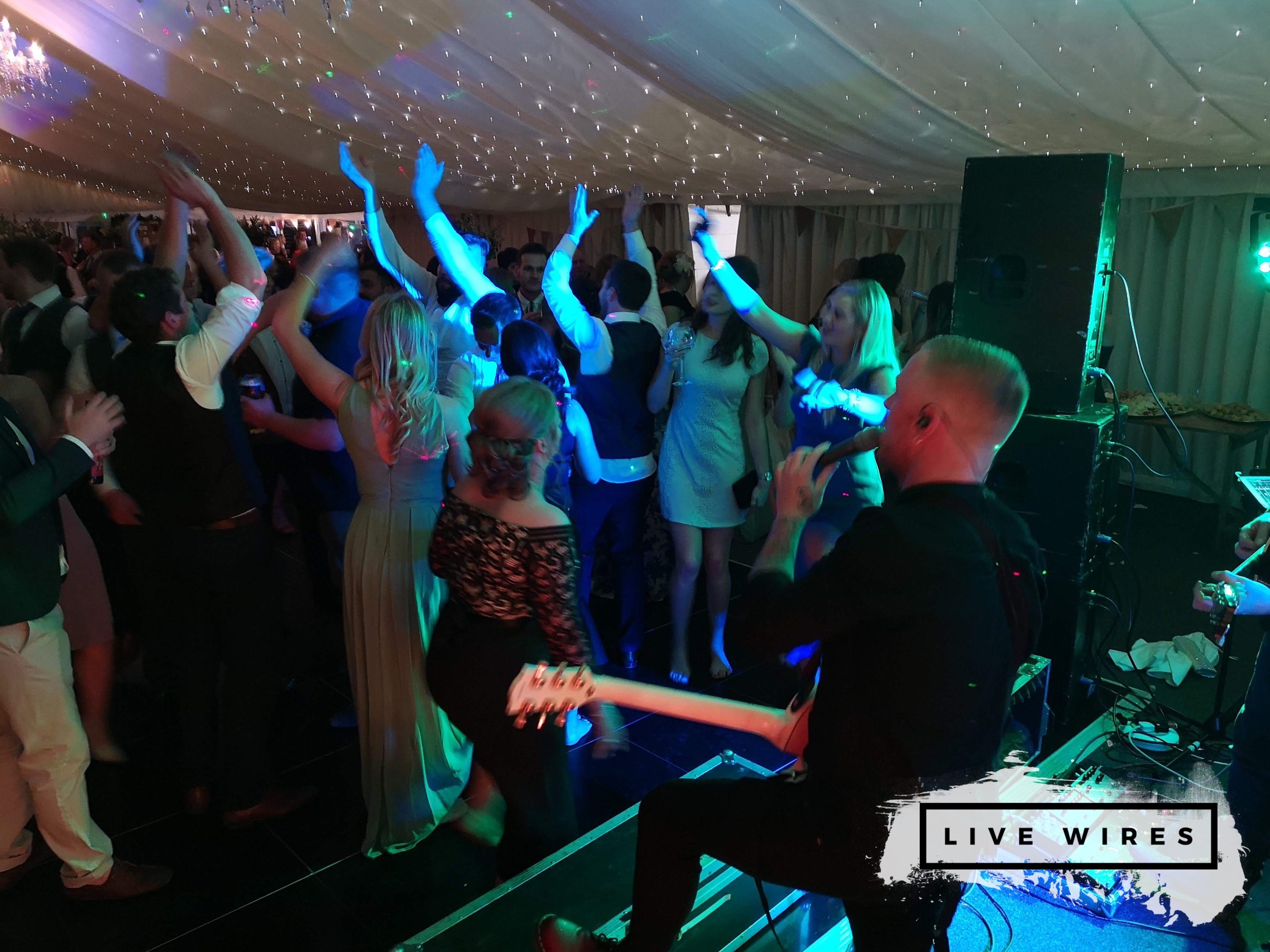 Live Wires | Rock and Pop Function Band Staffordshire | Alive Network