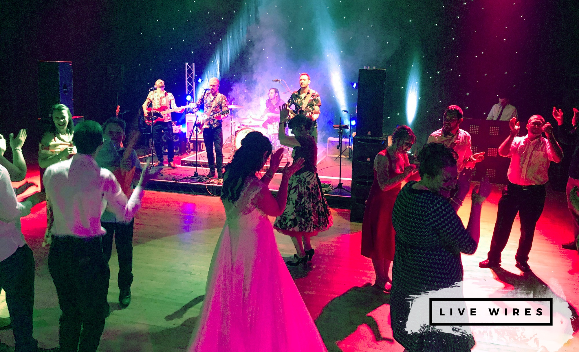 Live Wires Function Band Review Wedding Northamptonshire
