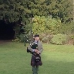 Event Royal Marines Piper Piper Gloucestershire