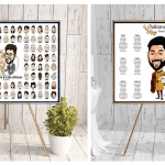 Promo Michael The Artist iPad Caricatures Digital Caricaturist Bedfordshite