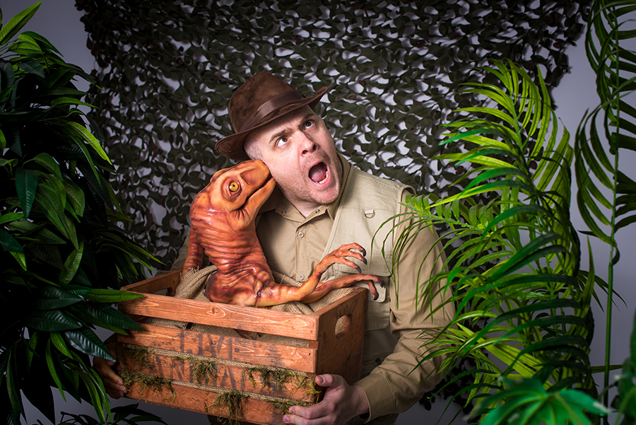 Promo Dougie the Dino Mix and Mingle Entertainer Norfolk