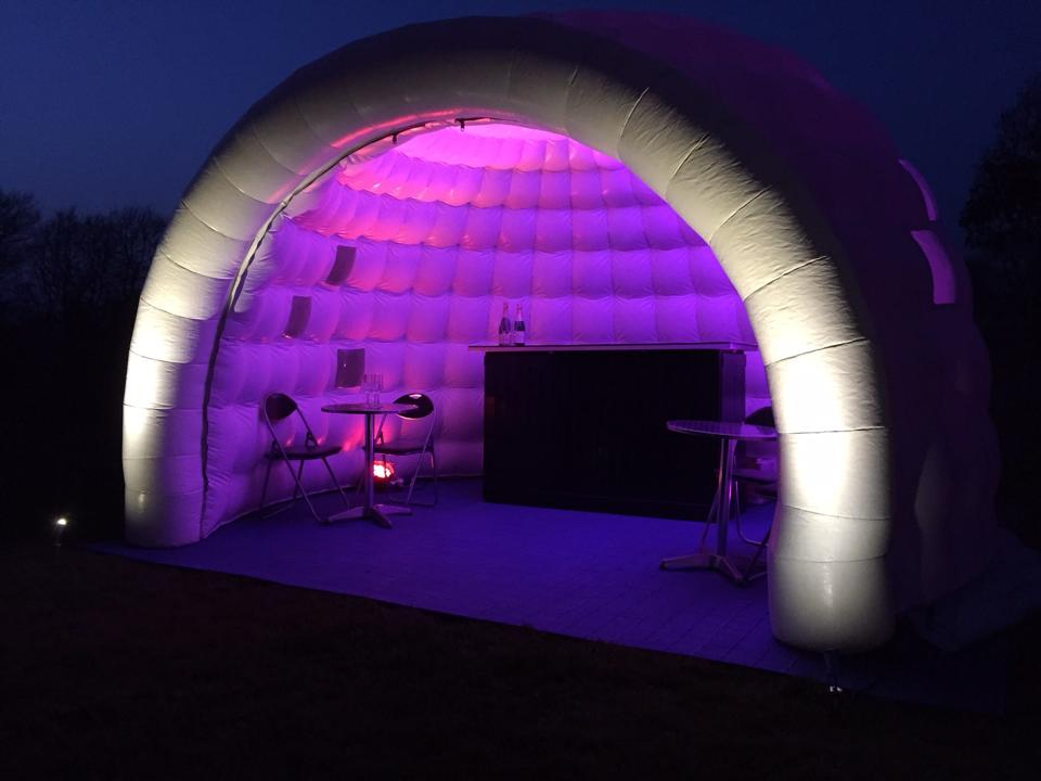 Promo Mini Igloo Hire Inflatable Igloo Hire Shropshire
