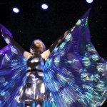 Promo LED Stilt Walkers Street Performer Leicestershire