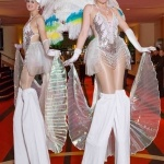 Promo Showgirl Stilt Walkers  Leicestershire