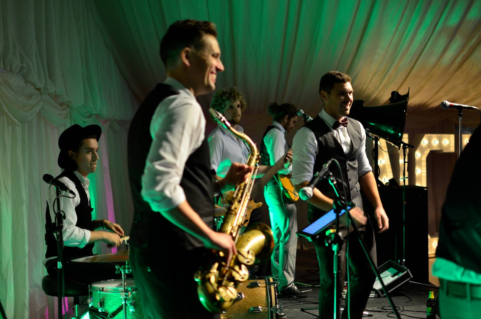 Promo The Party Fettlers Function Band Lancashire