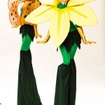 Promo Flower Stilt Walkers  Leicestershire