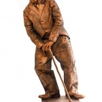 Promo Charlie Chaplin Living Statue  Leicestershire