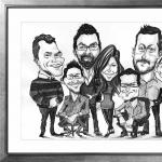Promo MK Caricatures Caricaturist Hertfordshire