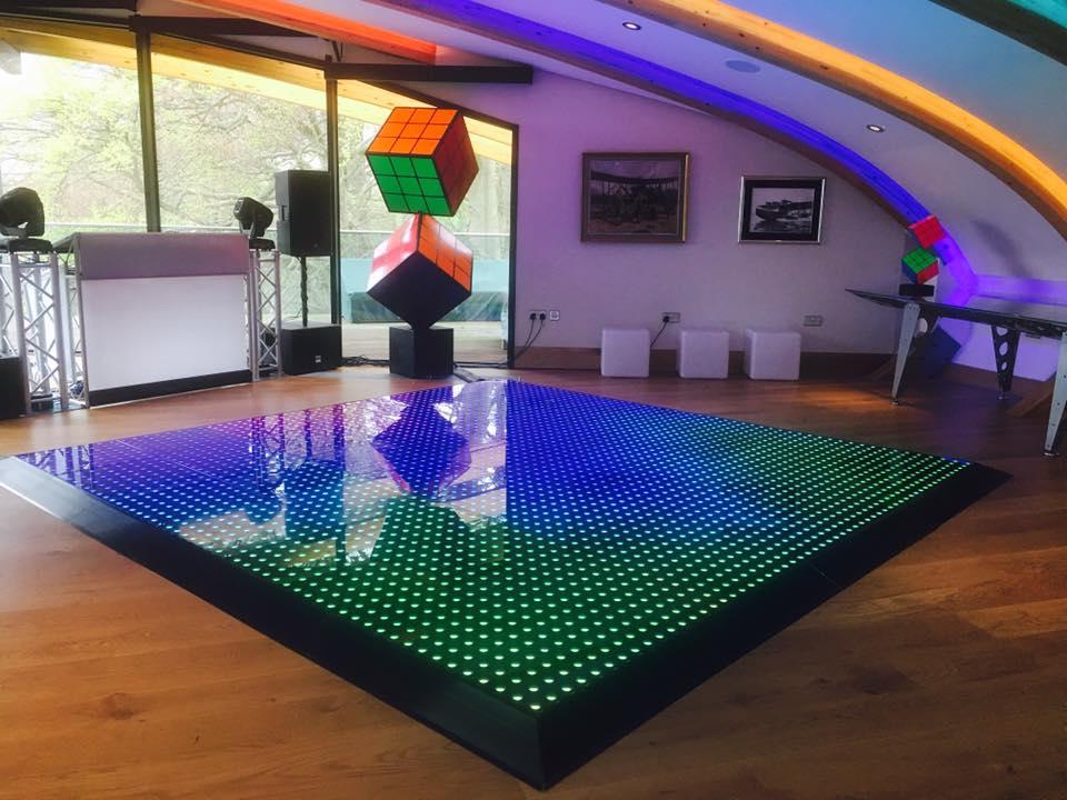 Promo The Digital Dance Floor Dance Floor Hire West Yorkshire