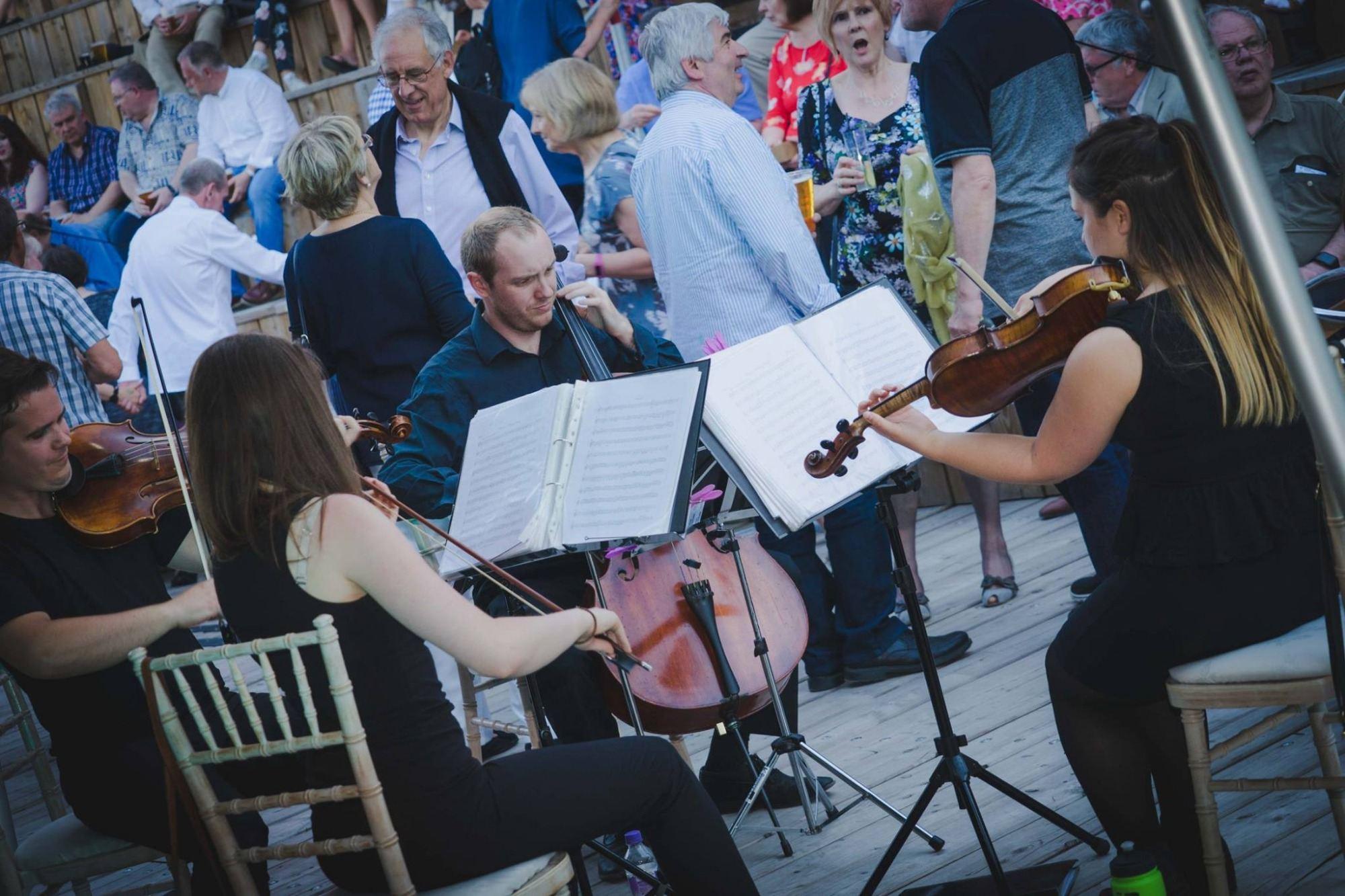 Promo Moore Strings String Quartet East Yorkshire