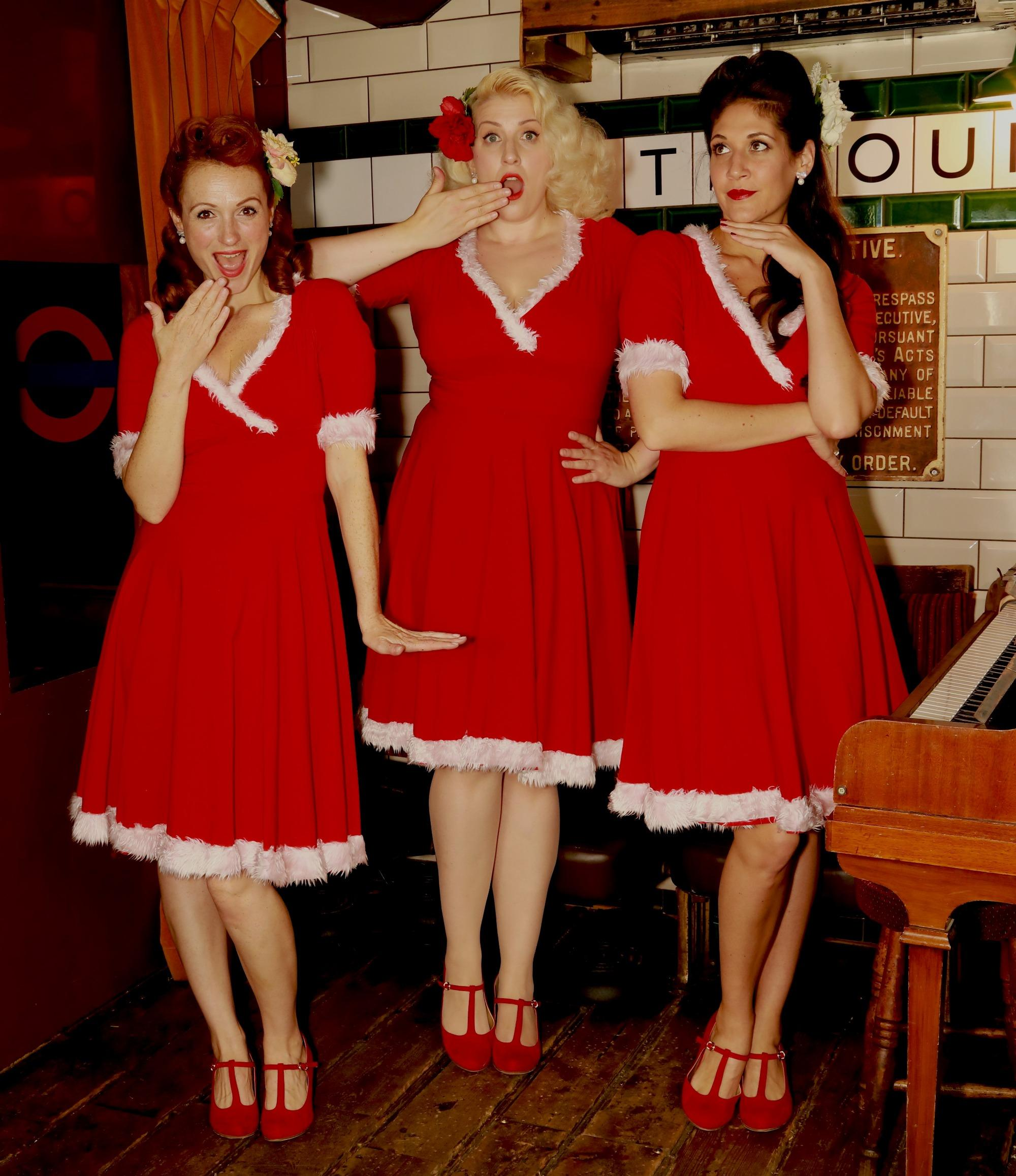 455fd04da36 Promo The Victory Rolls Vintage Trio London