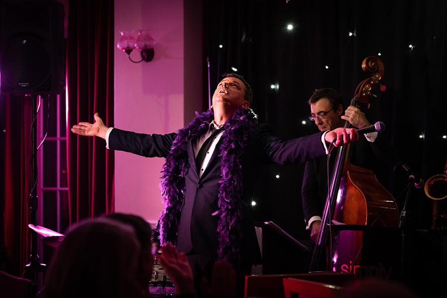 Promo Beyond Sinatra Jazz Band Surrey