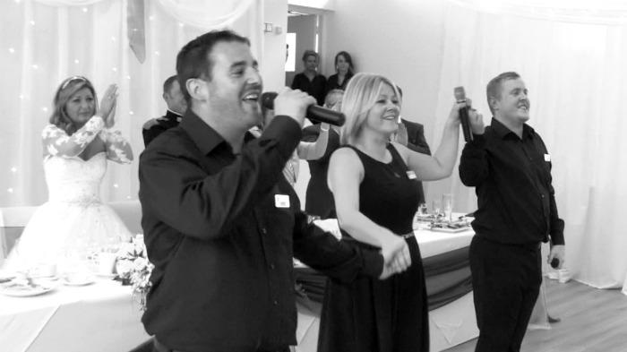 Promo Voci Secret Singers Singing Waiter West Yorkshire