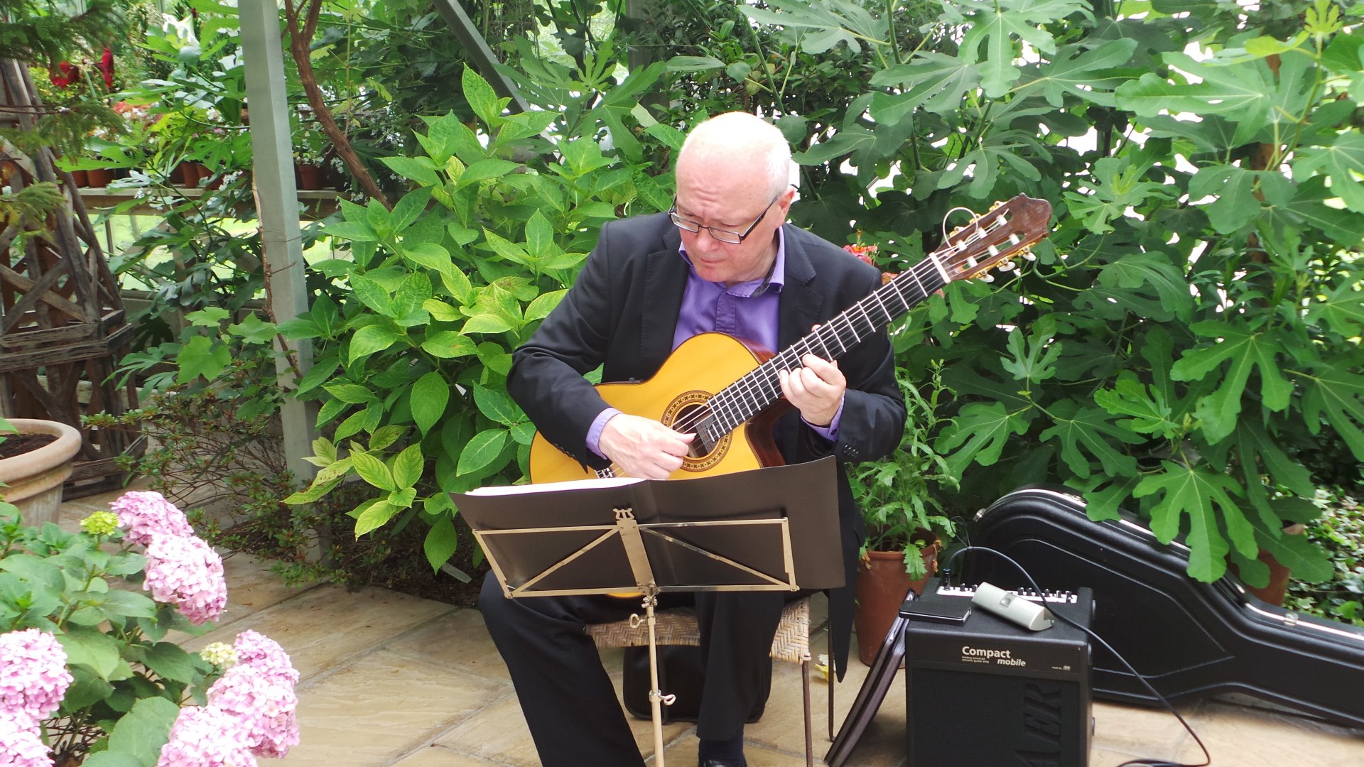 Promo Neil Brown Classical Guitarist Portsmouth, Hampshire