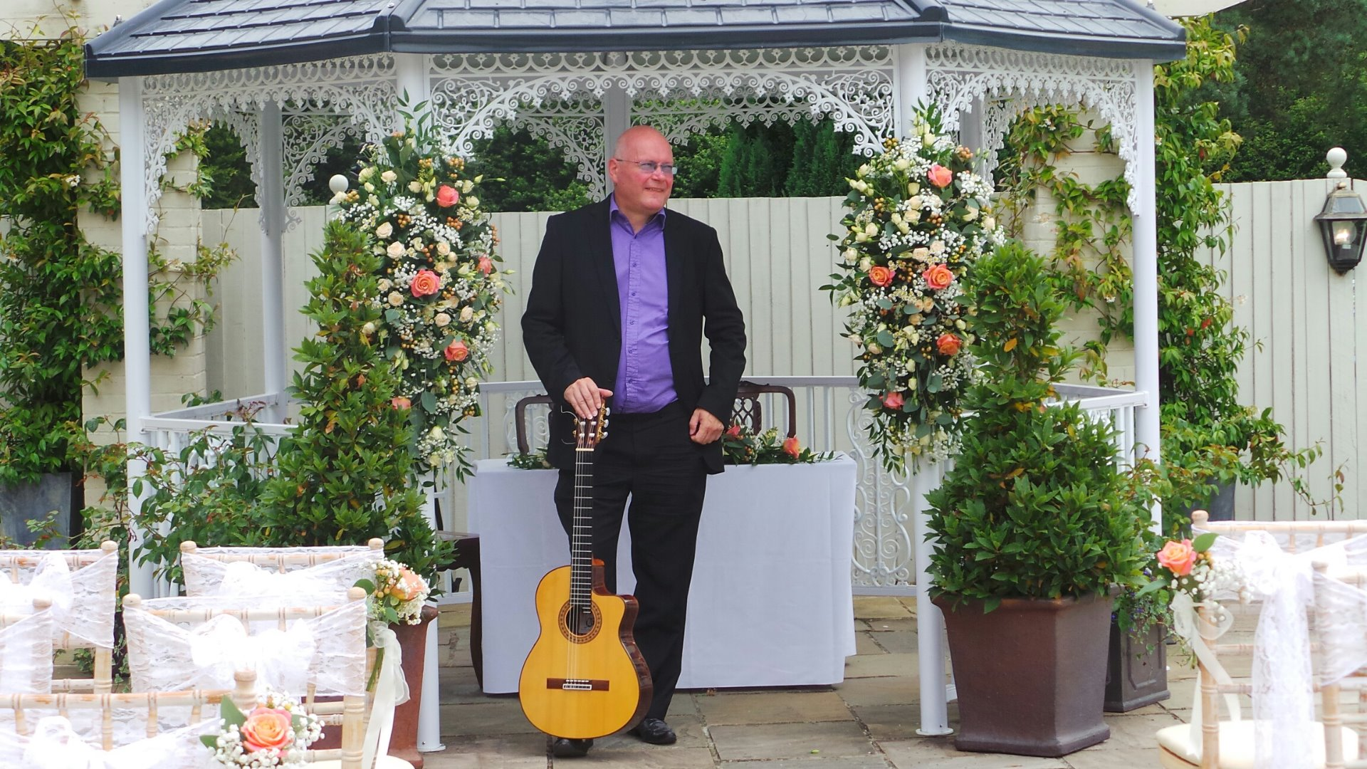 Promo Neil Brown Classical Guitarist Hampshire