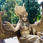 Promo Egyptian Living Statues Street Performer Leicestershire