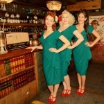 Promo The Victory Rolls Vintage Trio London