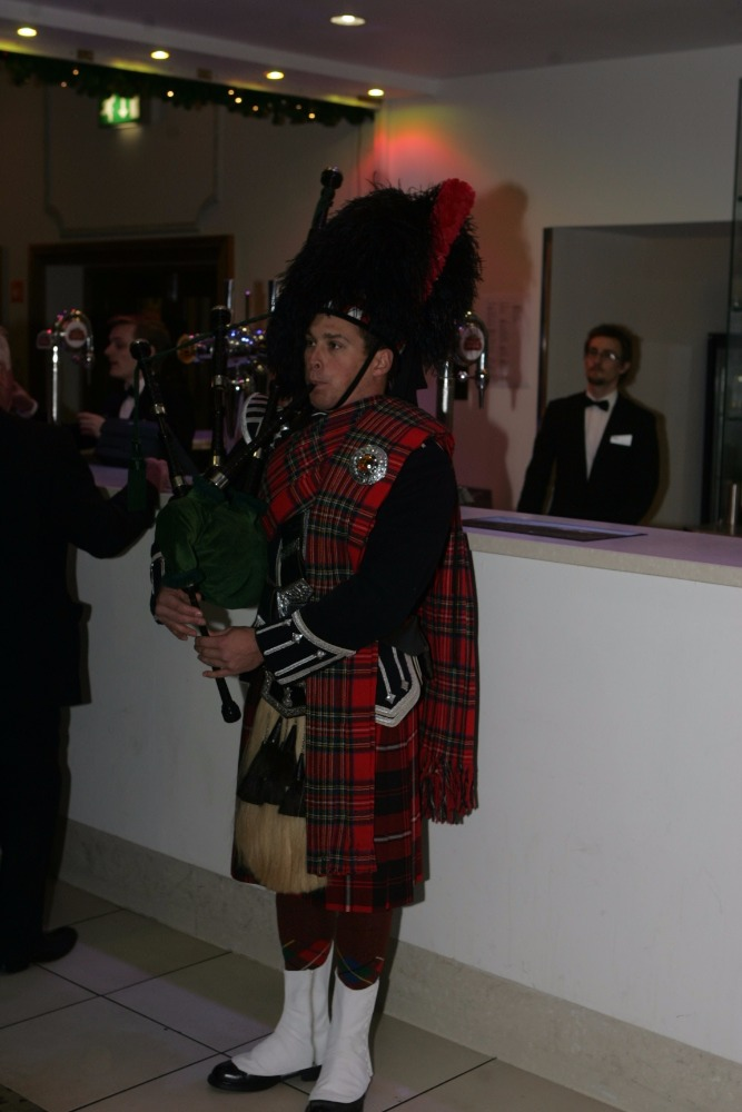 Promo Royal Marines Piper Piper Gloucestershire