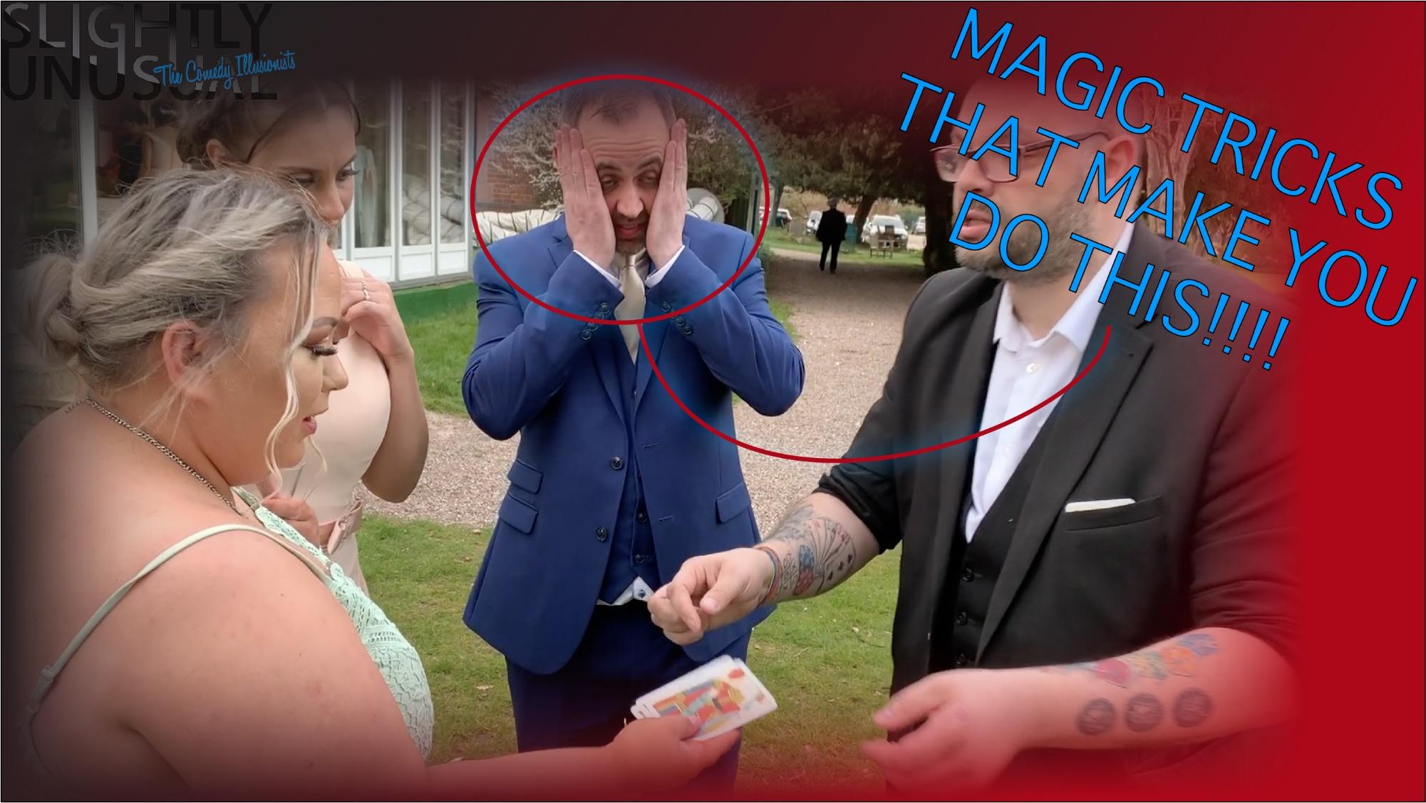 Promo Close Up Magician Craig Magician Staffordshire