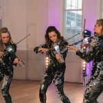 Promo LED Glitter Strings Electric String Ensemble London
