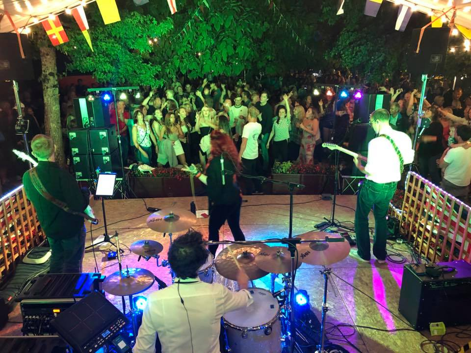Promo Little Miss Magic Function Band Cornwall