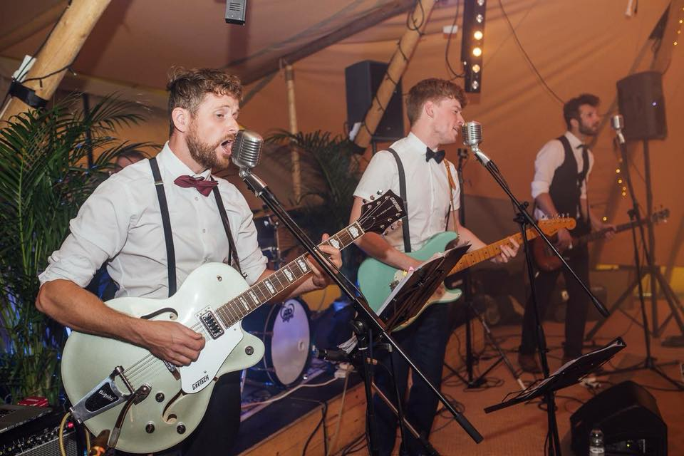 Promo The Rumbles Rock n Roll Swing Band Herefordshire