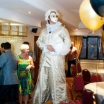 Promo Masquerade Stilt Walkers Street Performer Leicestershire