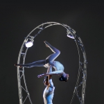 Promo The Revolving Aerialists Circus Performer London