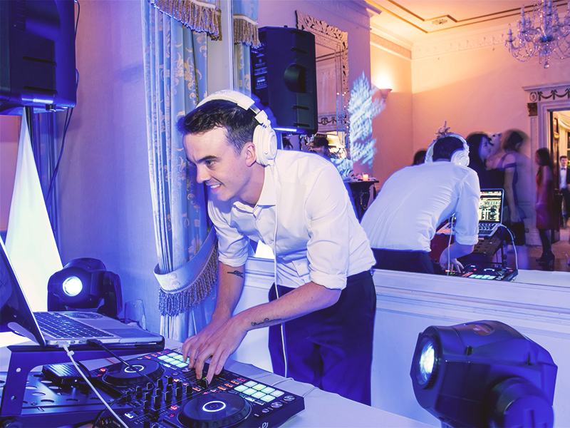 Promo DJ Rushe Wedding DJ London