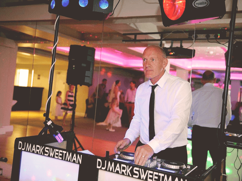 Promo DJ Sweetman Wedding DJ Cornwall
