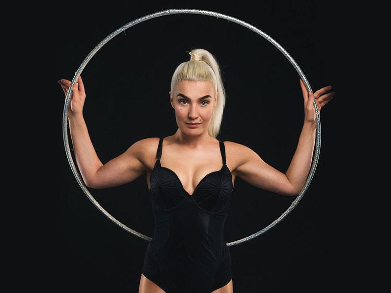 Promo Hula Hannah Hula Hoop Artist London