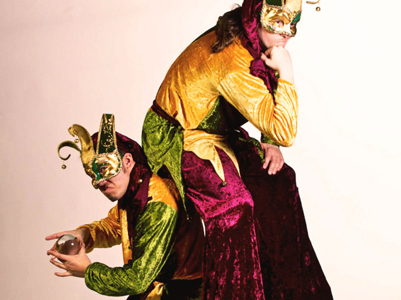 Promo Jugglers In Jester Costume  Leicestershire