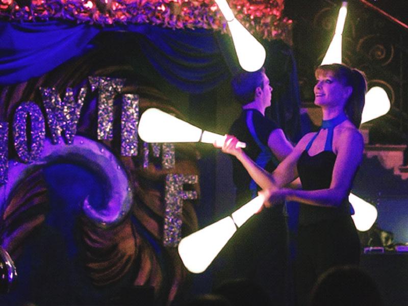 Promo LED Jugglers  London