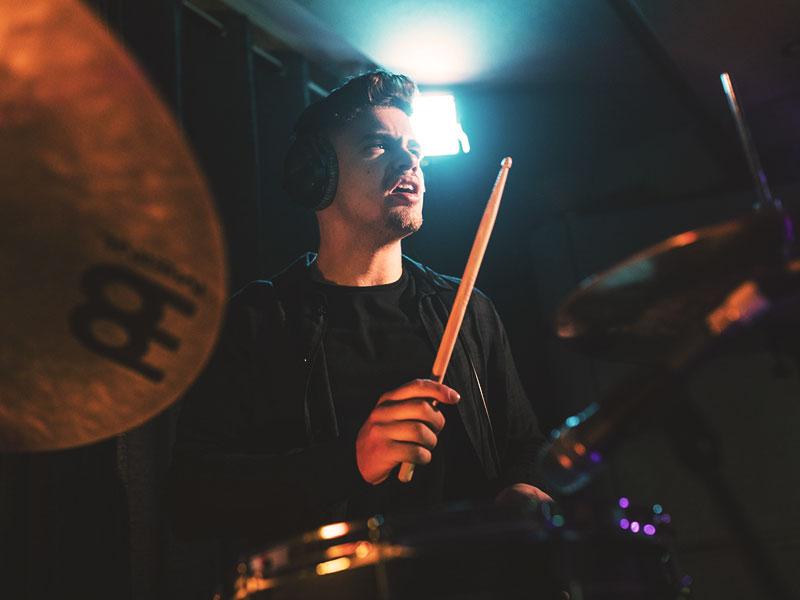 Promo Percussionist Jacob Percussionist Essex