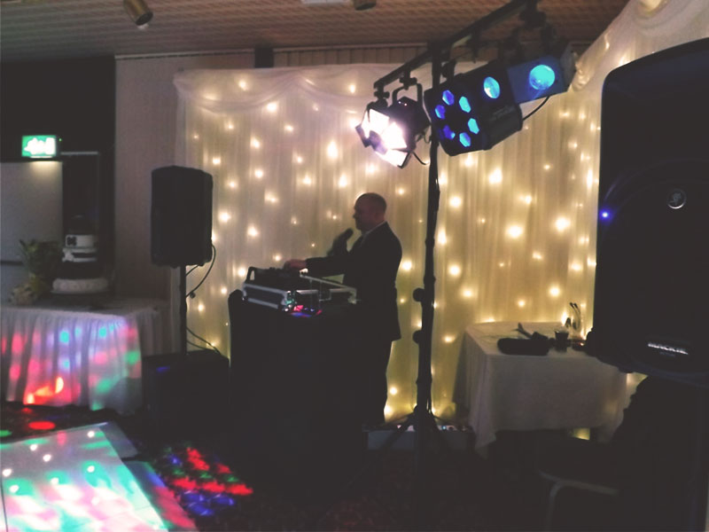 Promo Steve Scott Wedding DJ Staffordshire