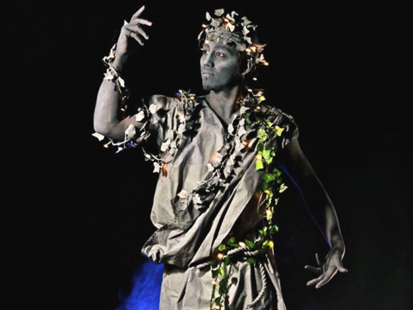 Promo Stone Living Statues Street Performer Leicestershire