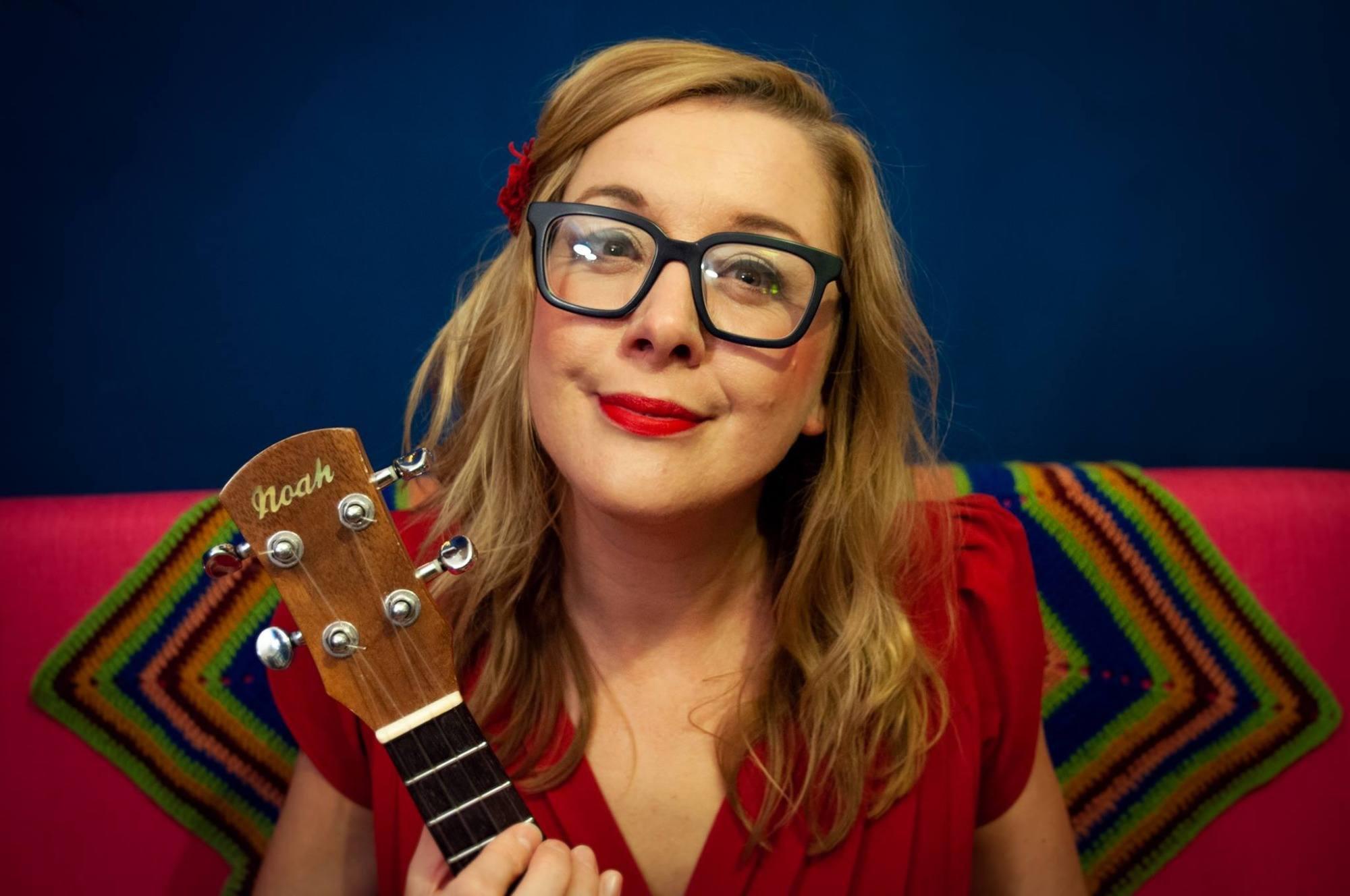Promo Nancy The Ukulele Soloist Vintage Ukulele Act Merseyside