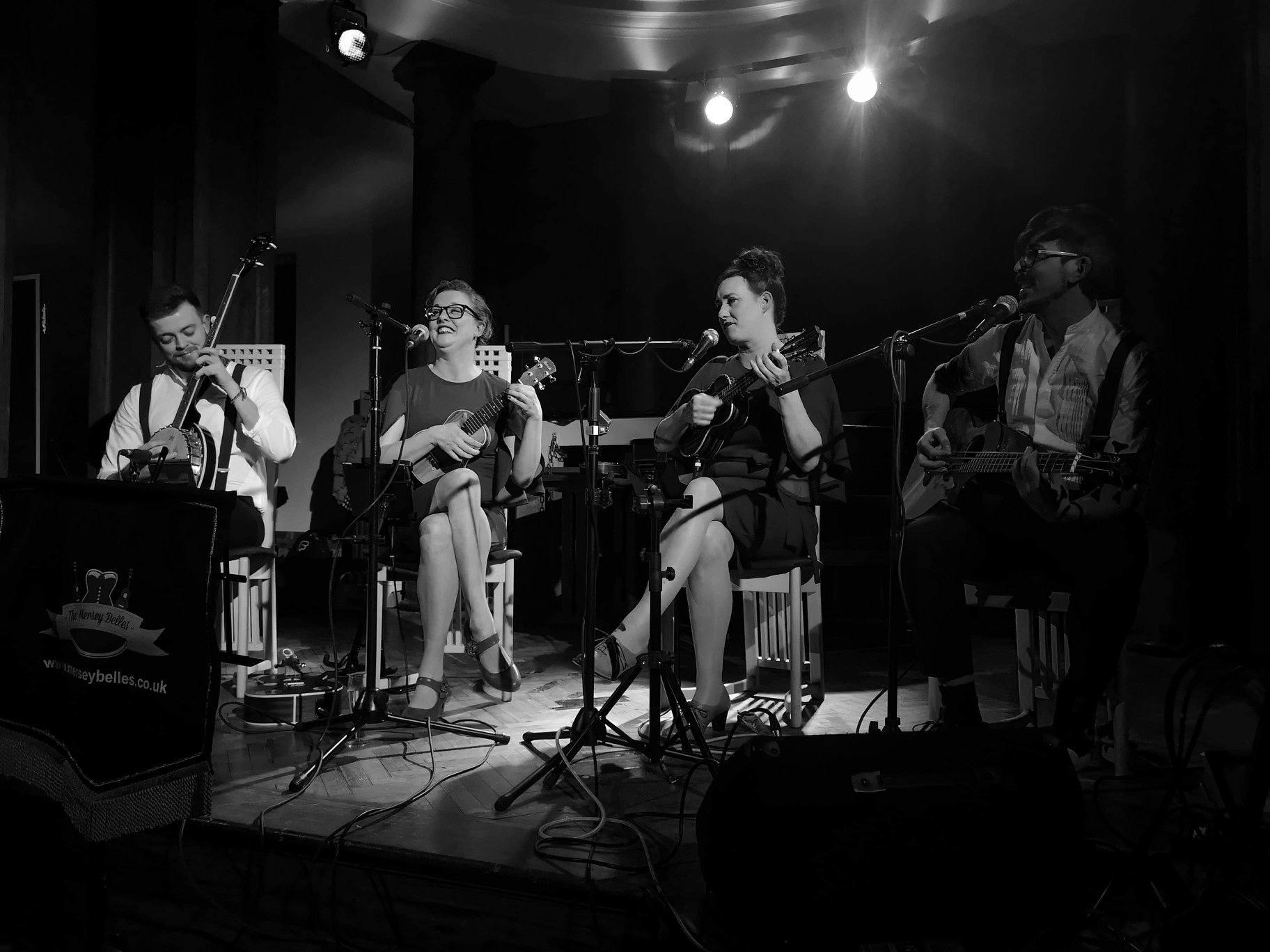 Promo The Ukulele Collective Vintage Ukulele and Vocal Band Merseyside