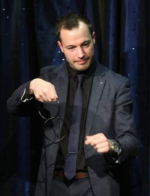 Promo Colin Marc Magician Leicestershire
