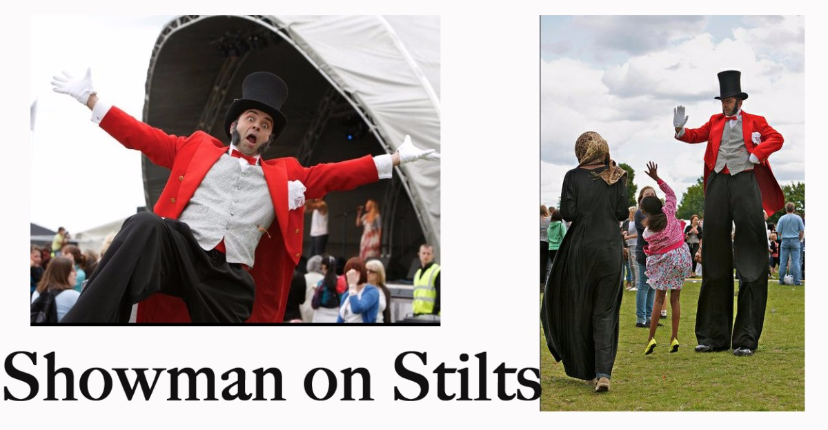 Promo Stilt Walkers Galore  Northamptonshire